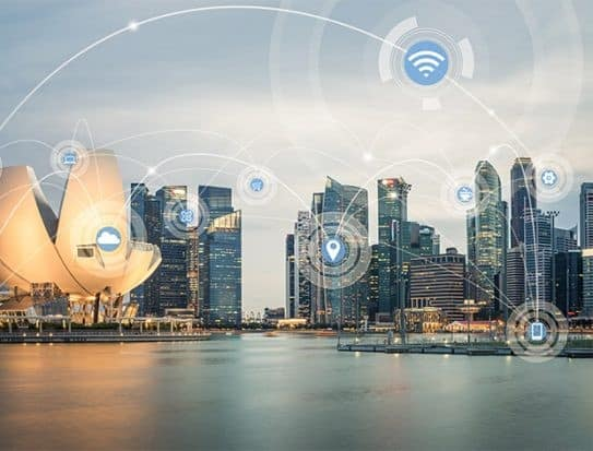 multiple electronic transaction infrastructure in Singapore